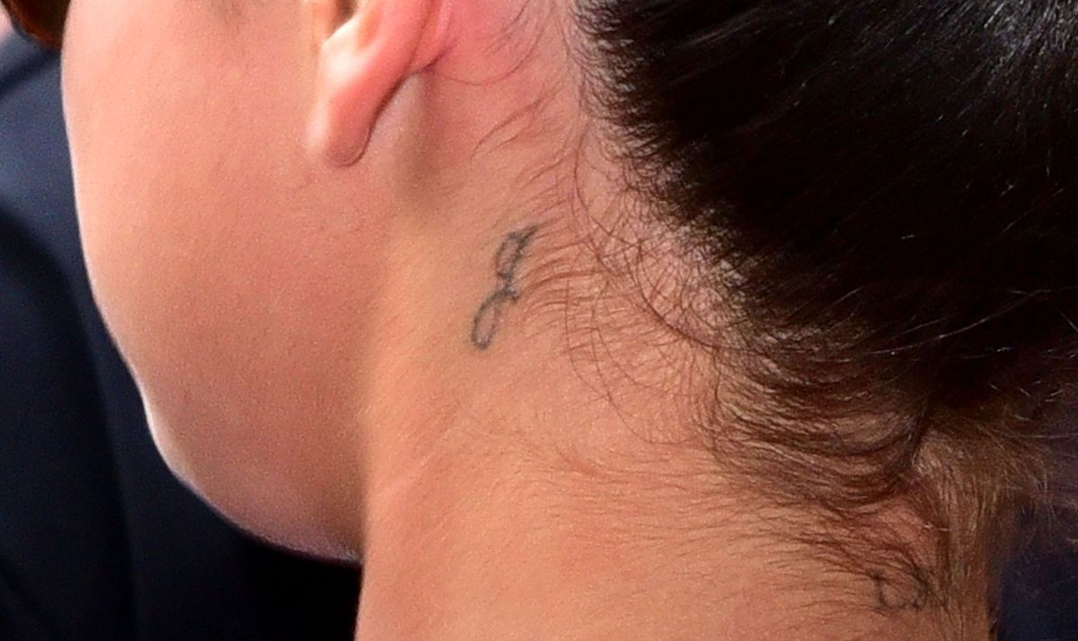 11 Tiny Tattoos Celebs Have Tucked Behind Their Ears