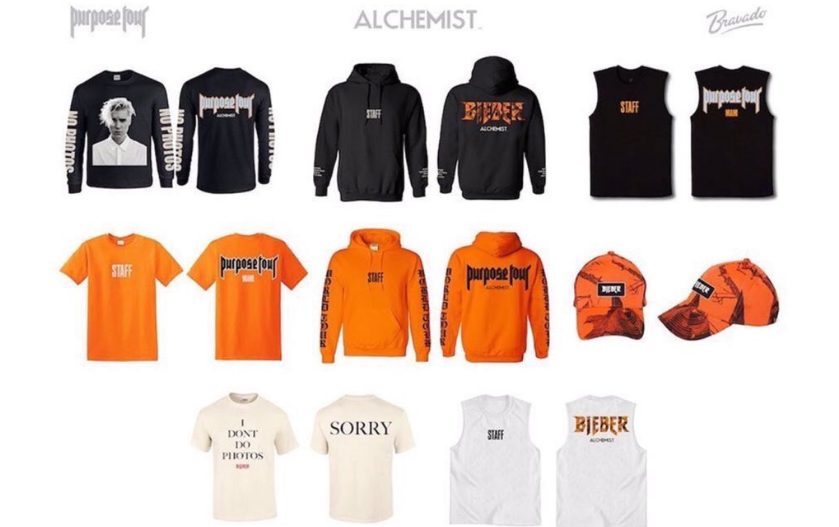 Justin Bieber's New Tour Merch Reminds You Of His Anti-Photo Policy