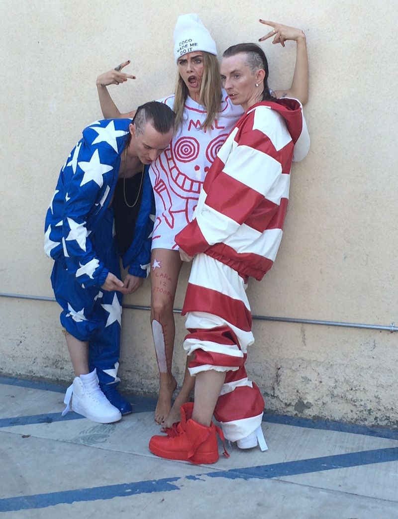 Die Antwoord's 'Ugly Boy' Stylists Didn't Even Know Cara Delevingne Would Be In The Video