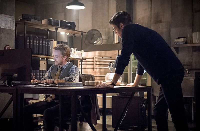Tom Felton Makes His Prickly Debut On The Flash In First Look Photos