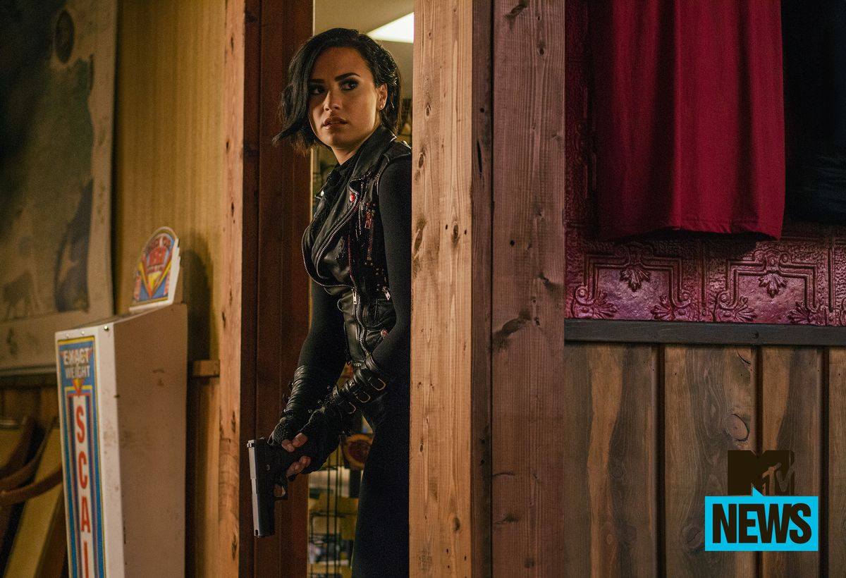 Demi Lovato Is Packing Serious Heat In This Exclusive First Look At Her Badass 'From Dusk Till Dawn' Debut